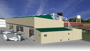 MCAS New River Aircraft Hangar