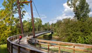 EL-5100IA Neuse River Greenway Trail Suspension Bridges