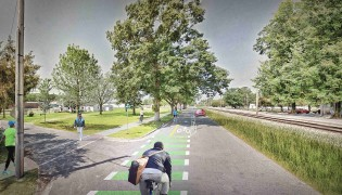 Kinston Riverfront Greenway & Cycle Track, EB-3314D