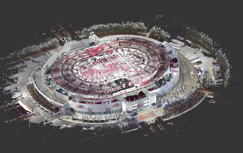 3D Scanning - PNC Arena Expansion & Renovations