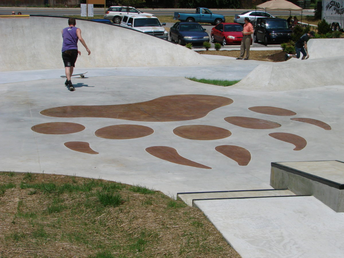 Action Sports Park - paw print
