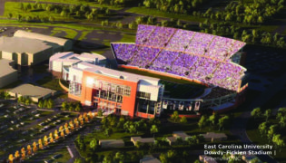 ECU Dowdy-Ficklen Stadium Expansion and Improvements
