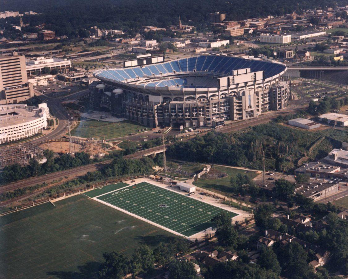 Carolina Panthers Practice Fields