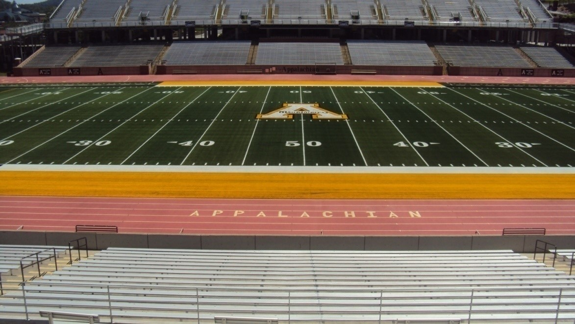 ASU Kidd Brewer Stadium Artificial Turf & Track Resurfacing
