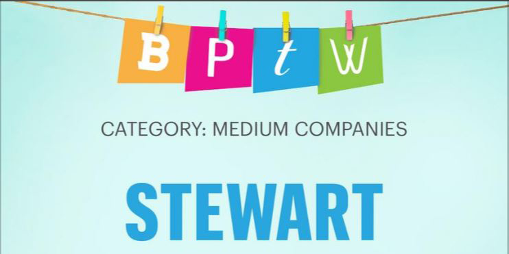Stewart Wins Two Top Workplace Awards