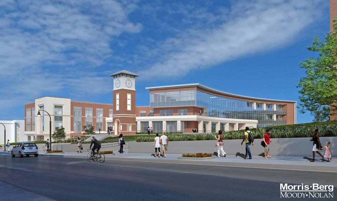 Stewart Brings Innovative Interdisciplinary Approach to New Central Piedmont Community College Student Complex