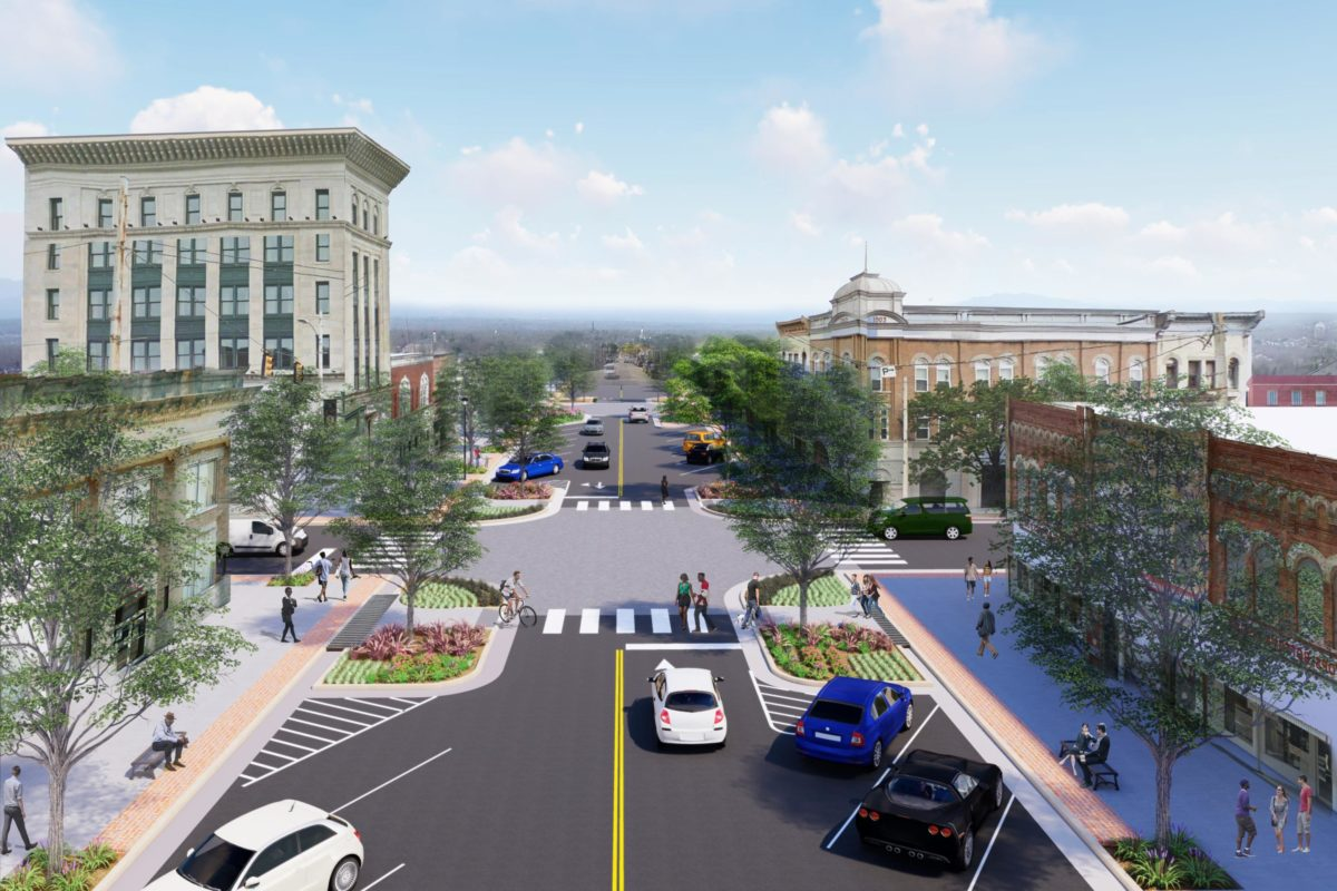 Kinston's Queen Street Project Snags APA - North Carolina Great Places