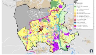 Fayetteville Future Land Use Map