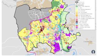 Fayetteville Future Land Use Map