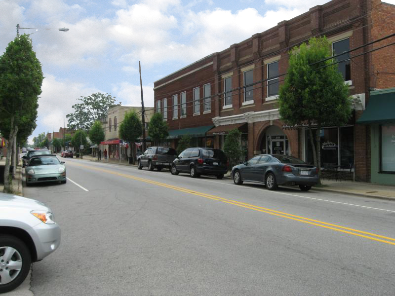 downtown Clayton