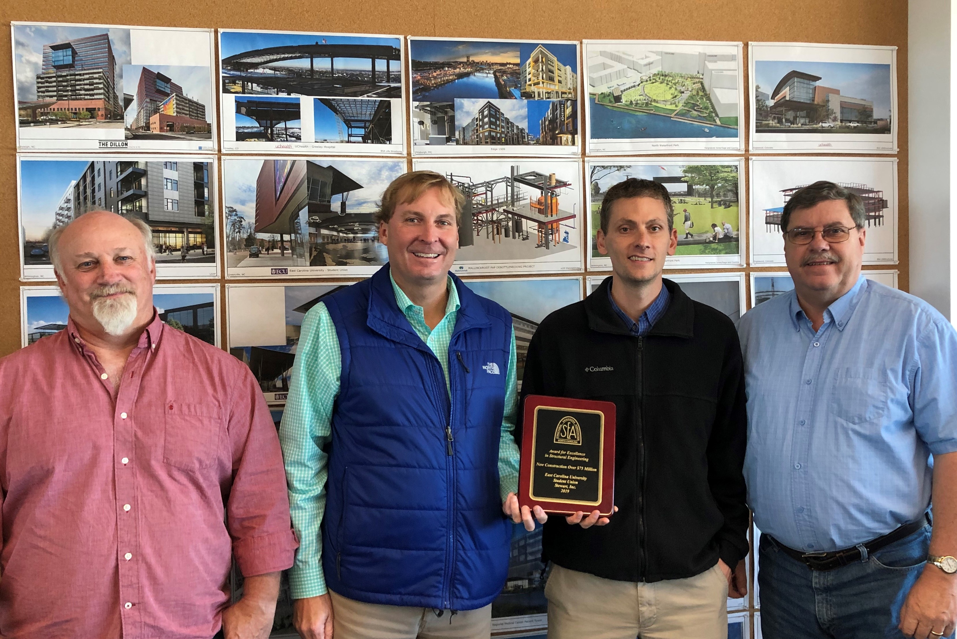 """ECU's Campus Student Center wins SEA of NC """"Award for Excellence in Structural Engineering"""""""