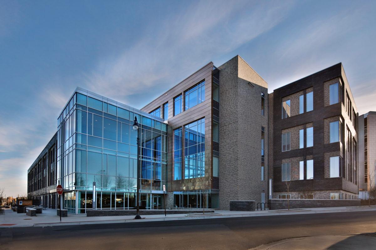 Durham Police Headquarters_Front elvation