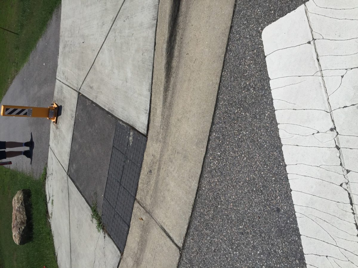ramp obstruction