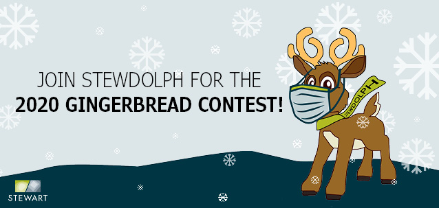 Join Stewdolph for the 2020 Gingerbread Contest!