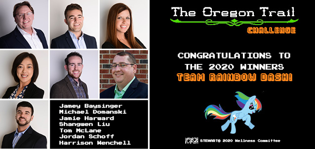 Congratulations to the 2020 Oregon Trail Challenge Winners!