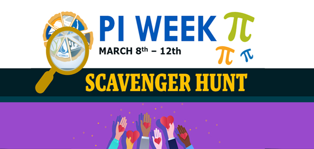 Learning, Laughter, and Team Work: Stewart's Pi Week Scavenger Hunt
