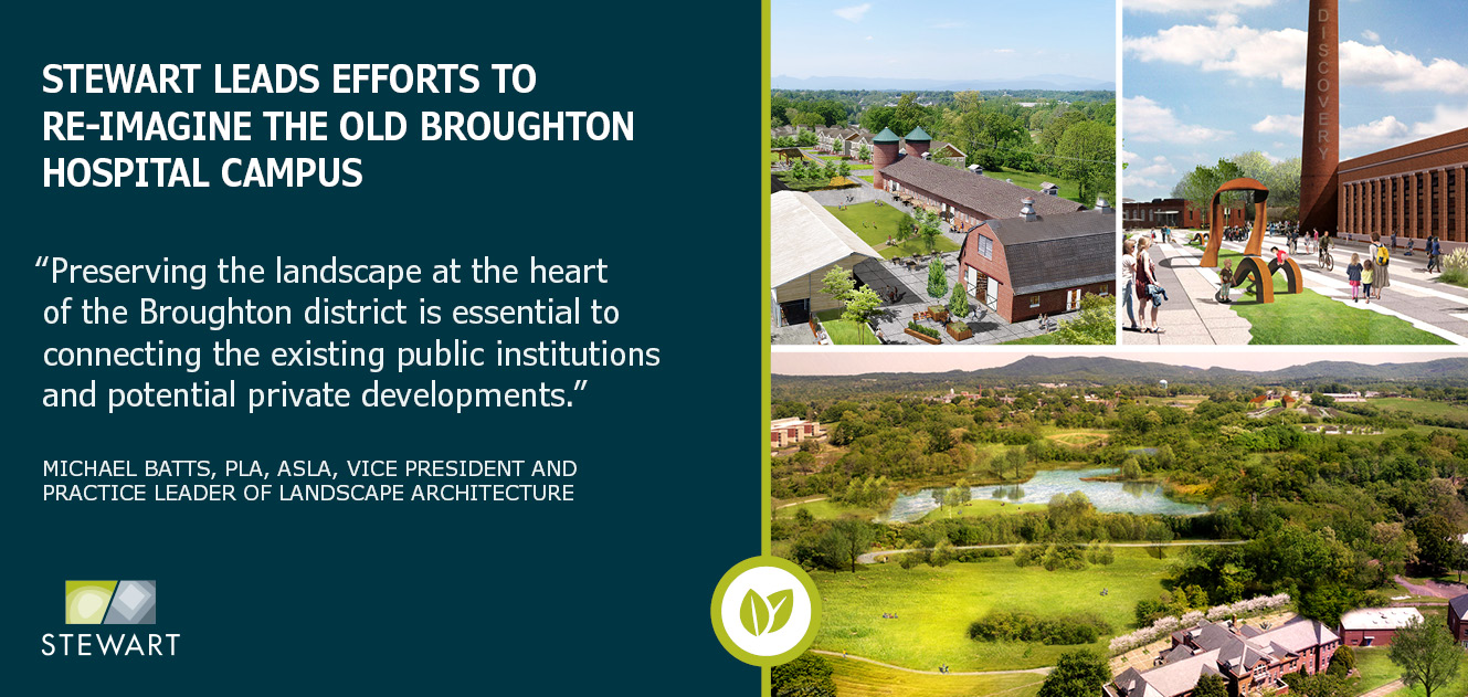 Stewart Leads Efforts to Re-imagine the Old Broughton Hospital Campus
