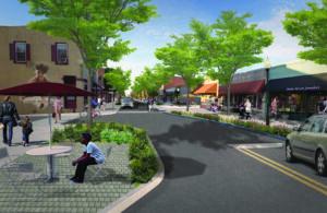 Clayton Main Street Streetscape