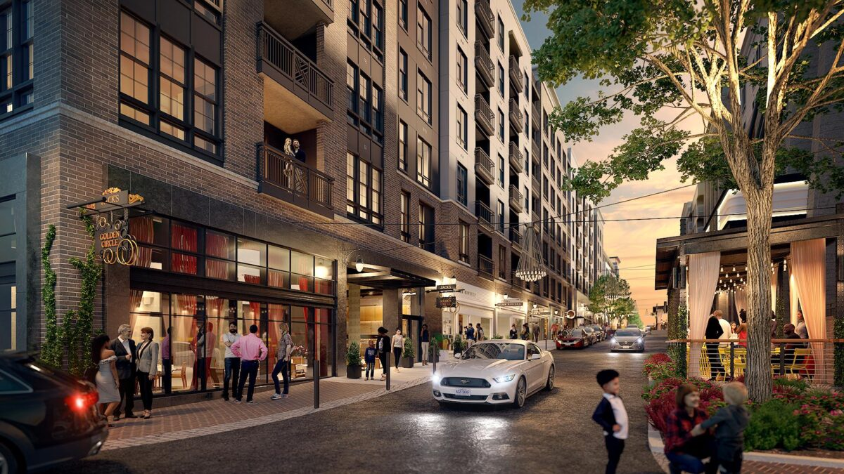 Seaboard Station Rendering_Franklin St and Alley