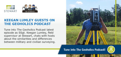 Keegan Lumley Guests on The Geoholics Podcast