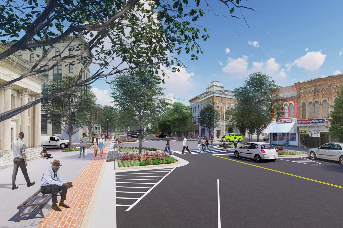 Queen Street rendering
